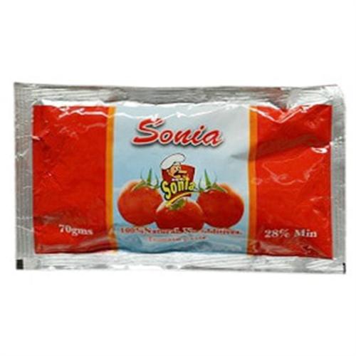 Sonia Tomato Paste Sachet 70 g