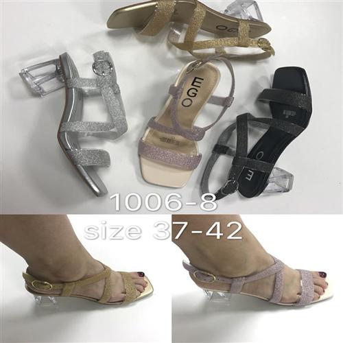 EGO Glitter Female Heel  Sandals