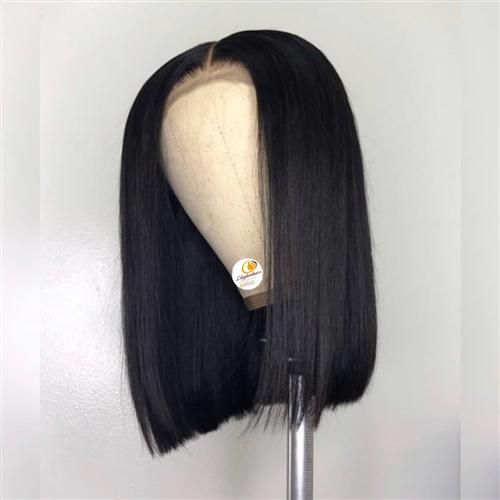 """14"""" CLOSURE HUMAN HAIR WIG"""