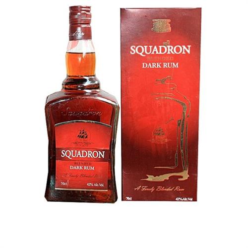 Squadron Blended Dark Rum 70cl