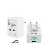 US Socket Plug USB Charge