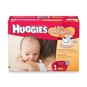 HUGGIES DIAPERS LITTLE  SNUGGLERS SIZE N SINGLE