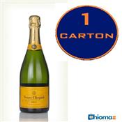 CARTON of Veuve Clicquot Brut Yellow Label