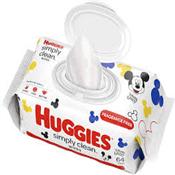 HUGGIES SIMPLY CLEAN 64 WIPES